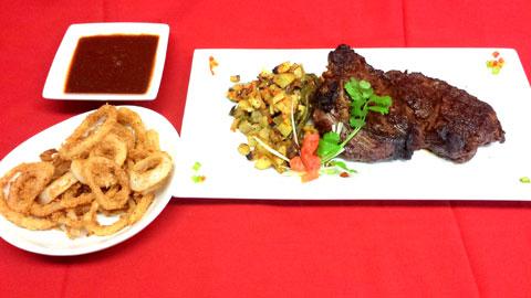 Cowboy Style Ribeye Steak